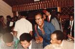 Muhammad Ali with Thom Blair, Joyce Pascall and Irvine (Dougie) Douglas
