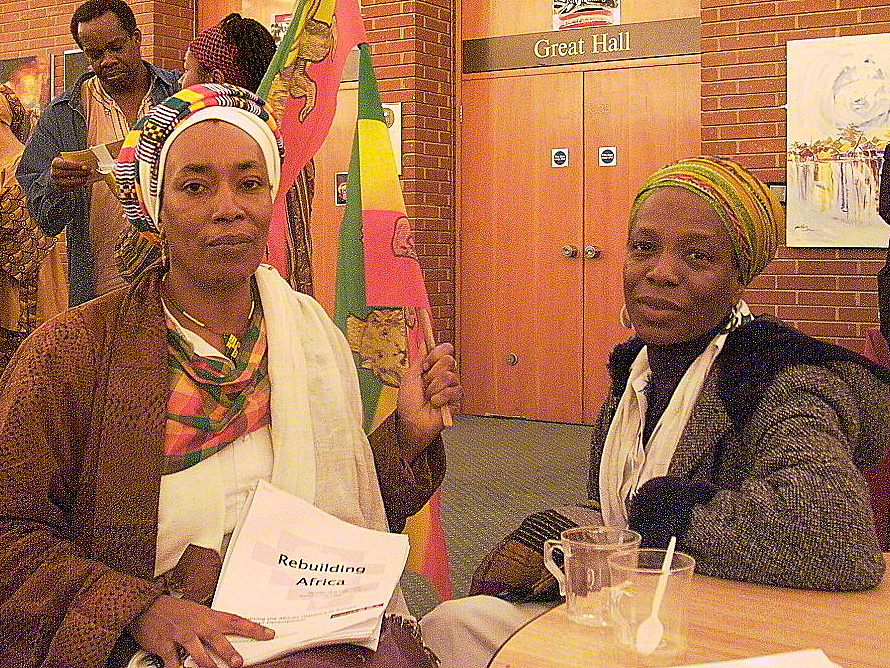 Black women -- force for change/copyright Thom Blair