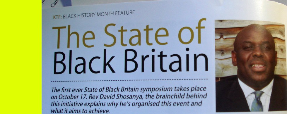 The Rev and the State of Black Britain/Chronicleworld